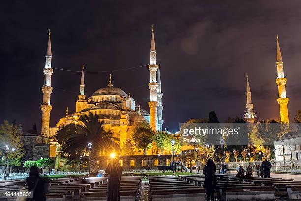 Hagia Sophia Istanbul-vous émerveiller par nuit, à Istanbul, en Turquie