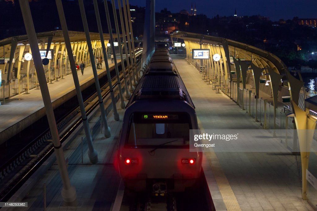 Istanbul Metro Station : Stock Photo