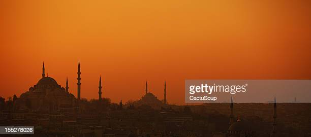 istanbul panorama - istanbul province stock photos and pictures
