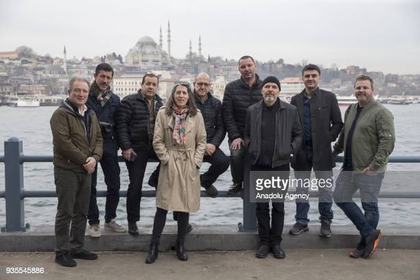 Istanbul Photo Awards Jury members Marion Mertens the senior digital editor at Paris Match magazine Cameron Spencer an awardwinning chief...