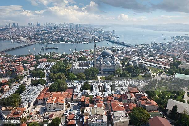 istanbul, moschea di suleyman - istanbul foto e immagini stock