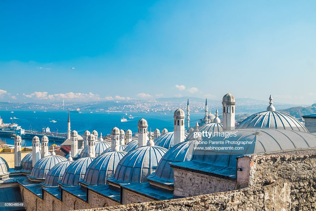 Istanbul suleymaniye mosque : Foto de stock
