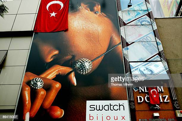 Istanbul Turkey Istiklal Cad street the main commercial point in Istanbul