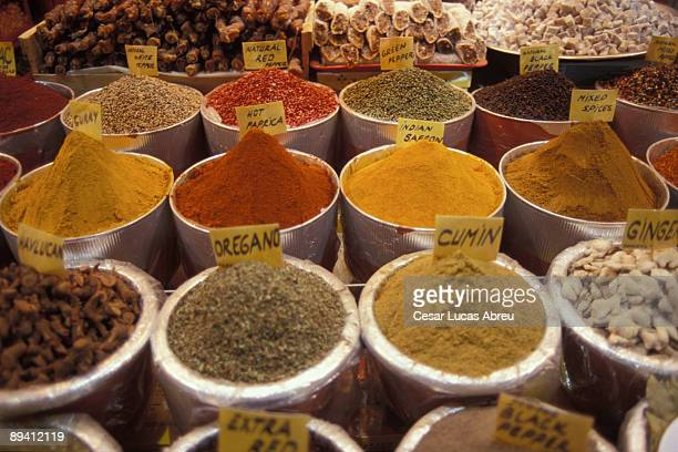 Istanbul, Turkey. Market of spices.