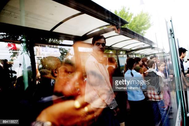 Istanbul Turkey Metro next to the Grand Bazaar