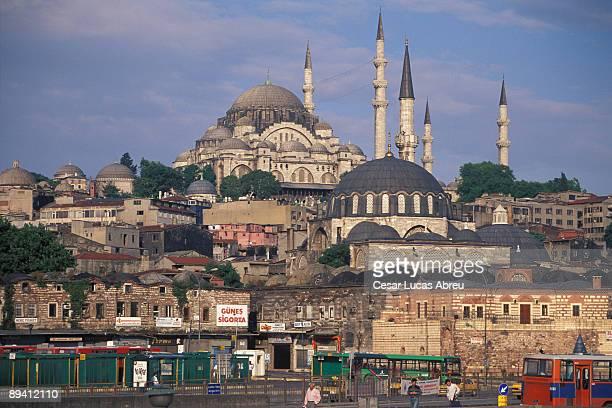 Istanbul Turkey Mosque Suleymaniye
