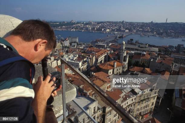 Istanbul Turkey The Galata Tower