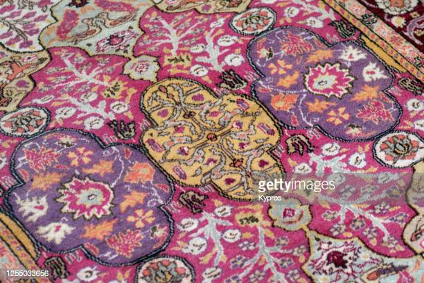istanbul, turkey - turkish carpet shop - persian rug stock pictures, royalty-free photos & images