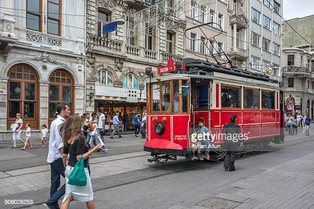 Istiklal Avenue or Istiklal Street is one of the most famous avenues in Istanbul Turkey
