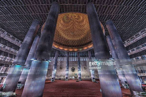 Istiqlal Mosque in Jakarta, Indonesia is the largest mosque in Southeast Asia and the third largest Sunni mosque in term of capacity in the world