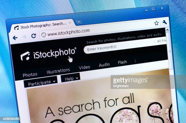 istockphoto webpage on the browser - istock_photo stock pictures, royalty-free photos & images