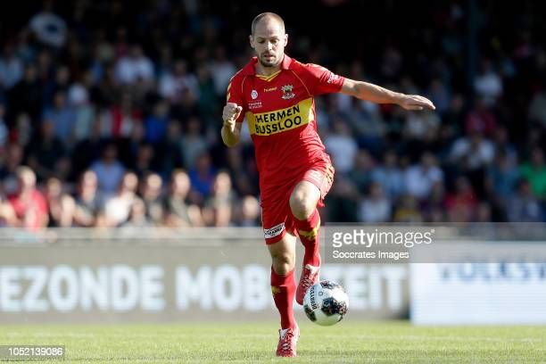 Istvan Bakx of Go Ahead Eagles during the Dutch Keuken Kampioen Divisie match between Go Ahead Eagles v Roda JC at the De Adelaarshorst on October 14...