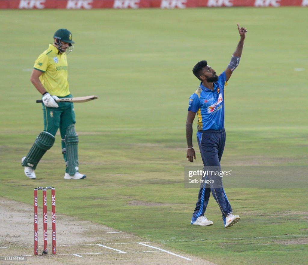 ZAF: 2nd KFC T20 International: South Africa v Sri Lanka