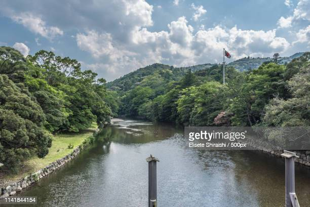 isuzu river - ise mie stock pictures, royalty-free photos & images