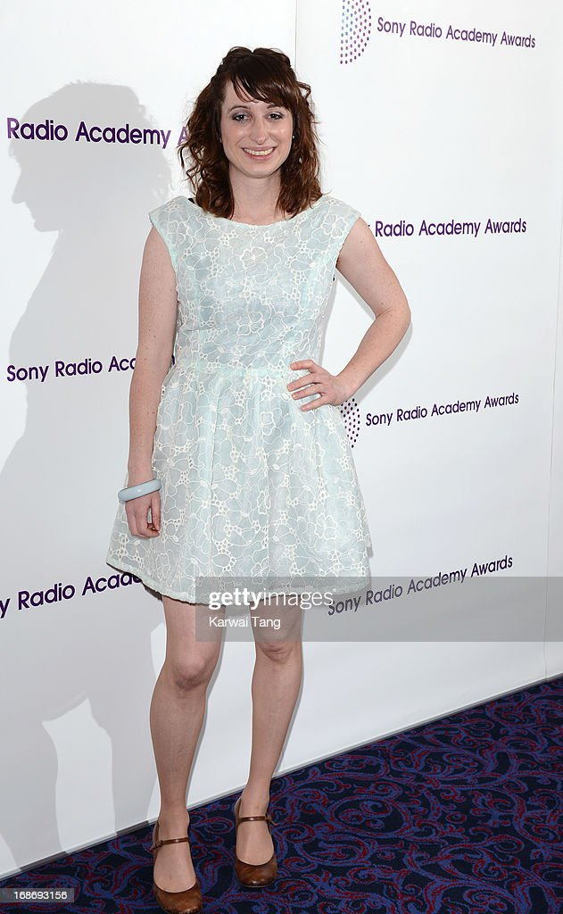 Isy Suttie attends the Sony Radio Academy Awards at The Grosvenor House Hotel on May 13, 2013 in London, England.