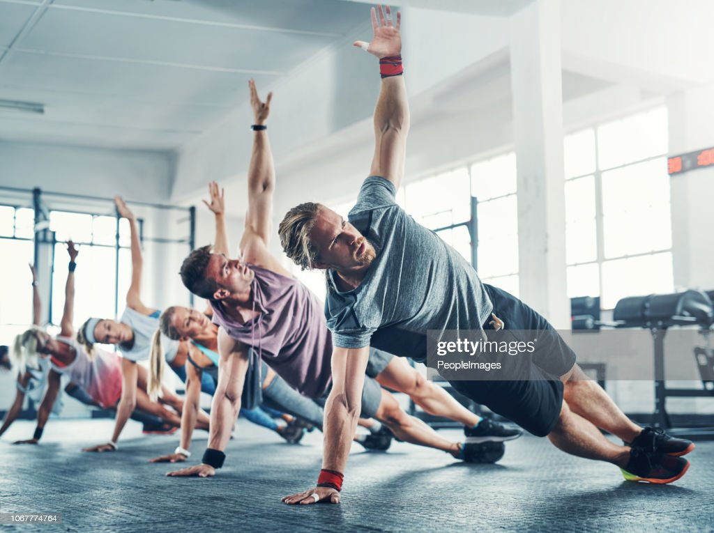It all starts with determination! : Stock Photo