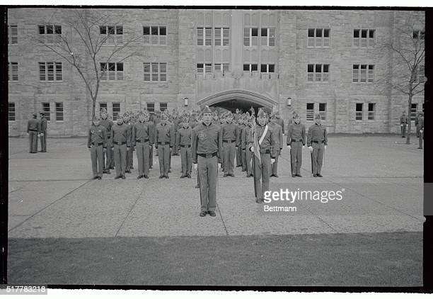 It appears to be business as usual as cadets turn out at the US Military Academy but behind the disciplines ranks there may be brewing the second...