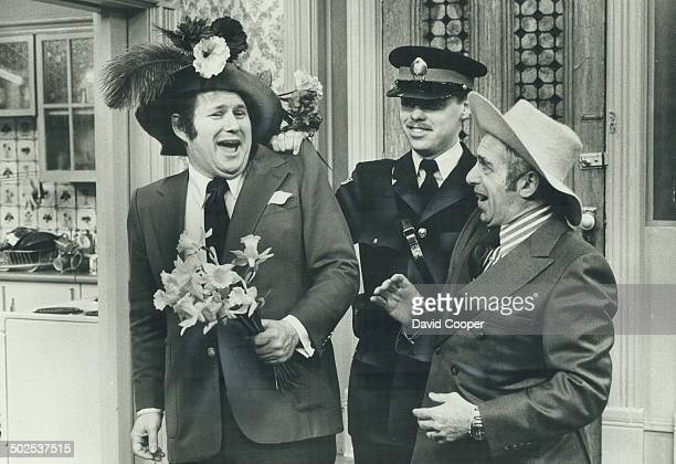 It fits Al Waxman star of The King of Kensington and CBC sportcaster Fred Sgambati seem to be headed to the pokey with Metro police constable Tamas...
