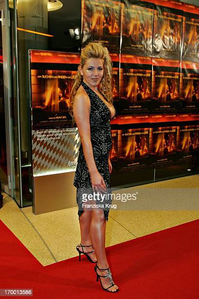 It Girl Davorka Tovilo at The Premiere 'From Search And Find The Love' In Mathäser cinema in Munich 190105