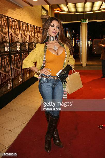 It Girl Kader Loth In The movie premiere of The Last train In Berlin