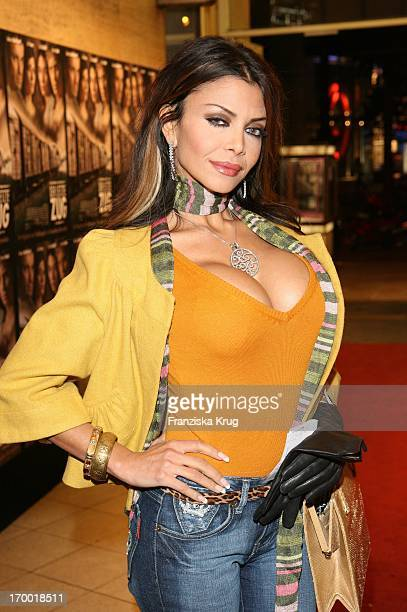 It Girl Kader Loth In The movie premiere of 'The Last train' In Berlin