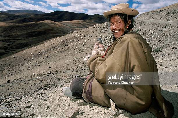 It goes without fail that every shepherd spins wool the entire day he watches over his flock. A nomad's life is a very lonely life. I have noticed...