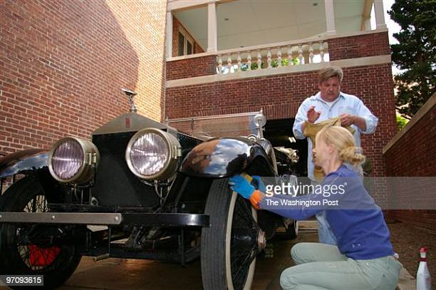 It is a 1923 Rolls-Royce Silver Ghost Touring Car that was given to Woodrow Wilson as a birthday present.Woodrow Wilson House curator Meg Nowack and...