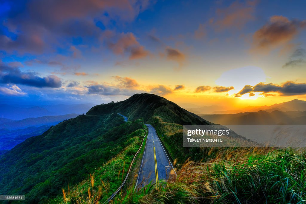 It is a long road : Stock Photo