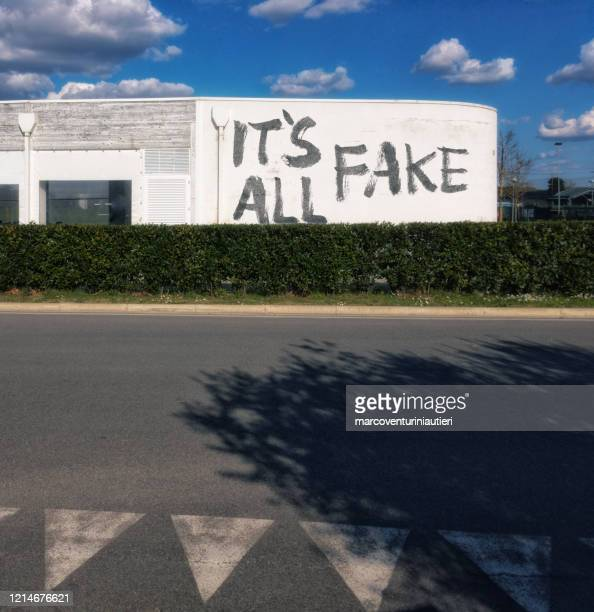 it is all fake is painted