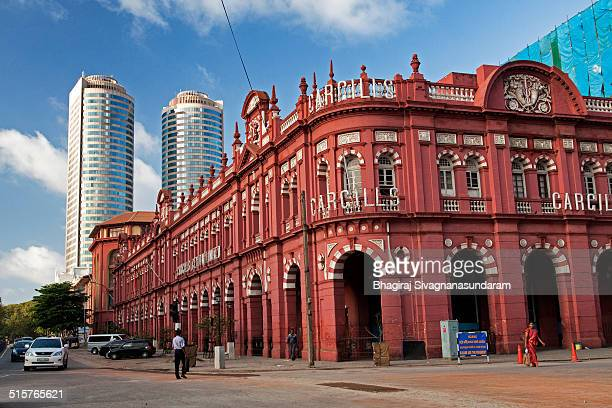 It is an old colonial period building in Colombo Sri lanka