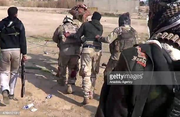 It is claimed that Islamic State of Iraq and the Levant execute 20 soldier from Iraq army in Fallujah Iraq on March 3 2014