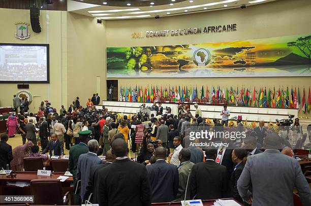 It is emphasized that importance of agriculture on economical development and joint fight against terrorism on 23th African Union Summit in...