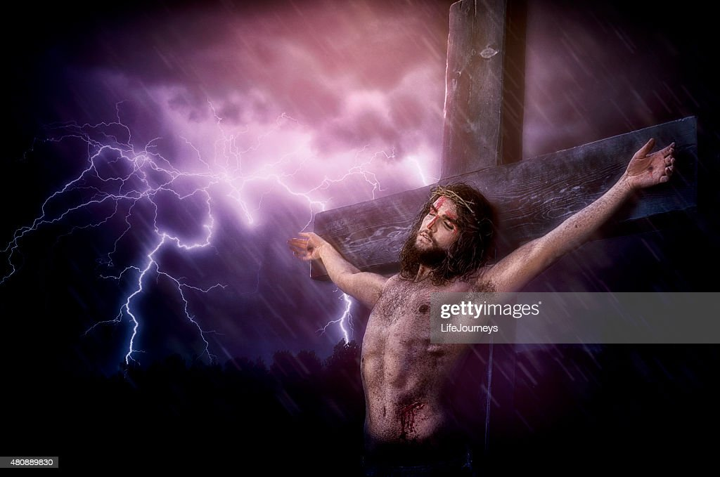 It Is Finished - Christ's Last Words During His Crucifixion‎ : Stock Photo