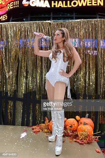 AMERICA It is Halloween morning in Times Square and anything can happen on GOOD MORNING AMERICA 10/31/14 airing on the ABC Television Network GINGER...