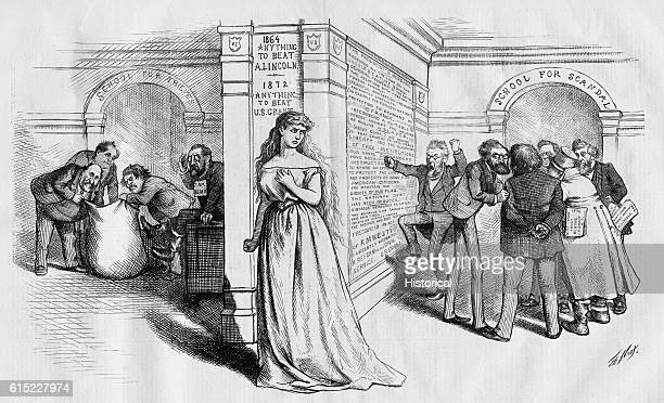 It is the immediate jewel of her soul School for the thieves where Boss tweed is reaching into a bag and the School for scandal Harper's Weekly...