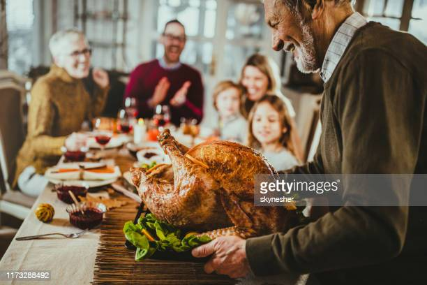 it is time for thanksgiving turkey! - thanksgiving holiday stock pictures, royalty-free photos & images