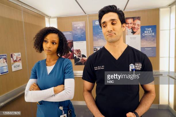 MED It May Not Be Forever Episode 514 Pictured Yaya DaCosta as April Sexton Dominic Rains as Crockett Marcel