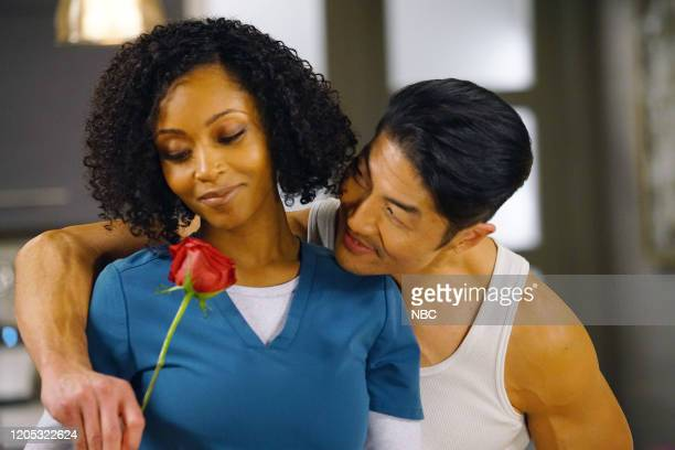 MED It May Not Be Forever Episode 514 Pictured Yaya DaCosta as April Sexton Brian Tee as Ethan Choi