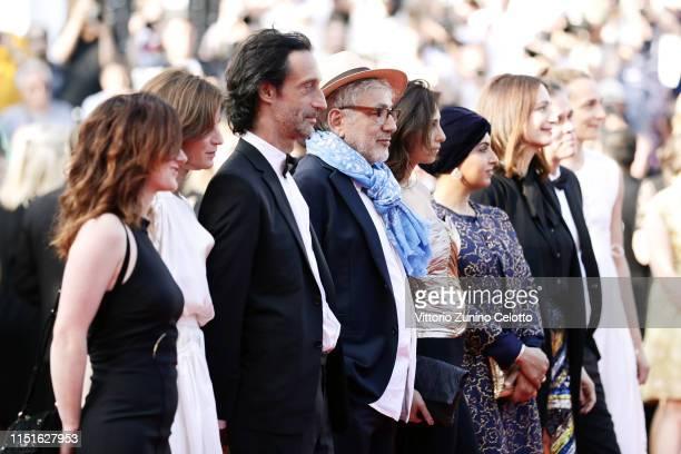 It Must Be Heaven cast Hanaa Issa Fatma Hassan Al Remaihi Yasmine Hamdan Elia Suleiman Edouard Weil Laurine Pelassy and Serge Noel attend the closing...