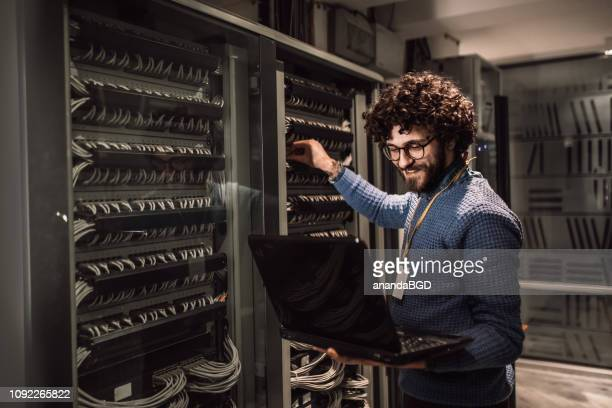 it - server room stock pictures, royalty-free photos & images