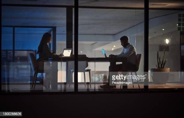 er is een toegewijd team voor nodig om een succes van een bedrijf te maken - hardnekkigheid stockfoto's en -beelden