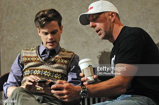 It Takes A Village Behindthescenes on the set of the CBS series CRIMINAL MINDS scheduled to air on the CBS Television Network Pictured LtoR Matthew...
