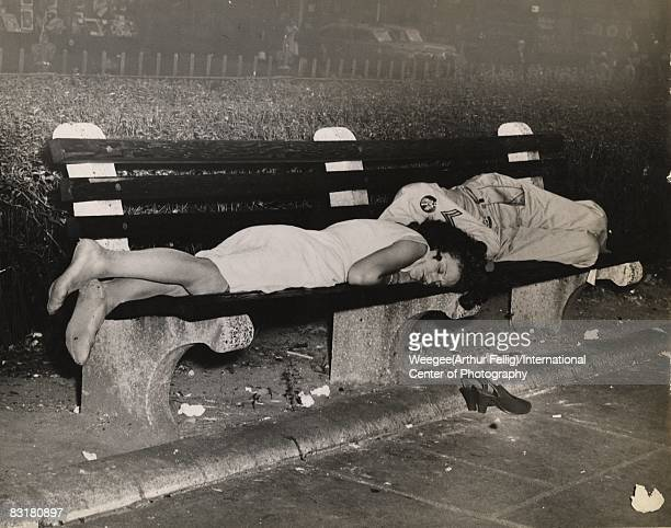 It was 5 o'clock in the morning at Duffy Square Broadway and 47th St The Labor Day influx and the shortage of hotel space coincided with warm weather...