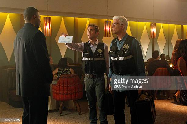 It Was a Very Good Year It's search warrant time as Greg Sanders and DB Russell approach the stage manager at the Martini Glass Club in this scene on...