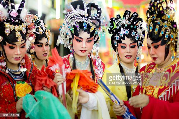 It was in Amphawa, Thailand, there lives a lot of Chinese fishermen immigrants. My visit coincided with one Chinese festival that they pay tribute to...