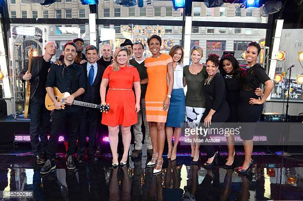 AMERICA It was Kelly Clarkson Day at GOOD MORNING AMERICA 3/3/15 as she announced she will be going on tour soon She surprised super fans signed...