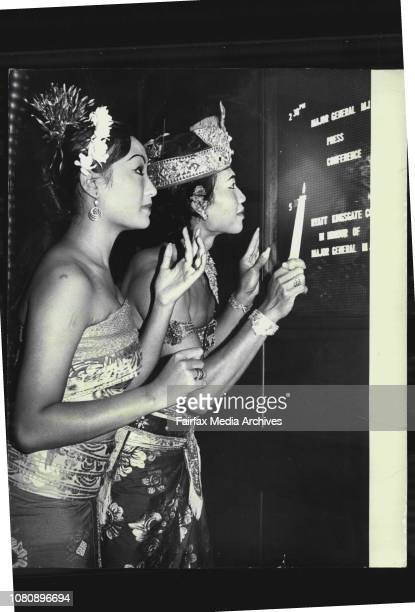 It was not a new Balinese dance for dancers Suwartini Sumanto 17 years old Balinese dancer and 24 years old Mr Anak Agung Gde Bagus who were dressed...