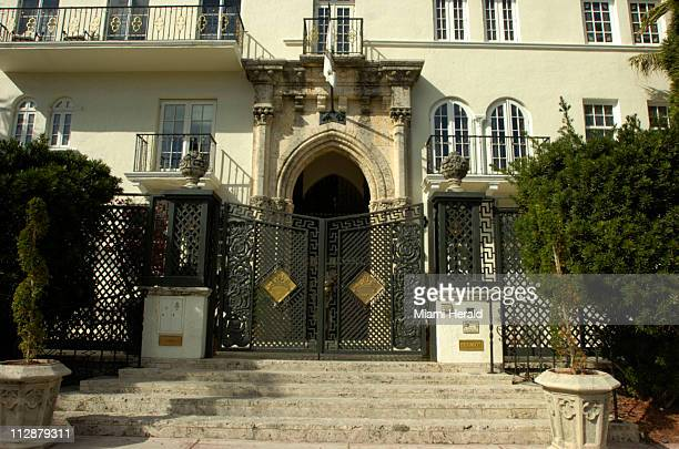 It was on these steps of Casa Casuarina pictured January 9 that Gianni Versace was killed in July 1997 This is all part of the Versace Murder Tour