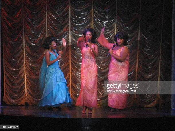 It was opening night for Dream Girls at the Duke Ellington School for the Performing Arts where 15yearold Amber Jones plays one of the lead roles as...