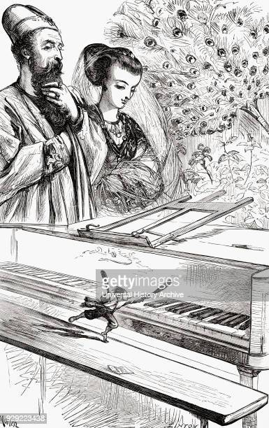 It was the most violent exercise that I ever underwent Gulliver playing the spinet with two sticks for the king during his voyage to Brobdingnag From...